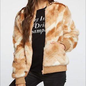 Faux fur Calico Jacket